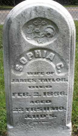 TAYLOR, SOPHIA C. - Montgomery County, Ohio   SOPHIA C. TAYLOR - Ohio Gravestone Photos