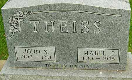 THEISS, JOHN S - Montgomery County, Ohio | JOHN S THEISS - Ohio Gravestone Photos