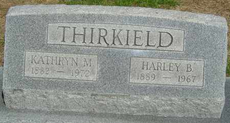 THIRKIELD, HARLEY B - Montgomery County, Ohio | HARLEY B THIRKIELD - Ohio Gravestone Photos