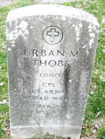 THOBE, URBAN M. - Montgomery County, Ohio | URBAN M. THOBE - Ohio Gravestone Photos