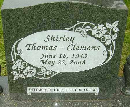 THOMAS-CLEMENS, SHIRLEY - Montgomery County, Ohio | SHIRLEY THOMAS-CLEMENS - Ohio Gravestone Photos