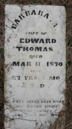 THOMAS, BARBARA A. - Montgomery County, Ohio | BARBARA A. THOMAS - Ohio Gravestone Photos
