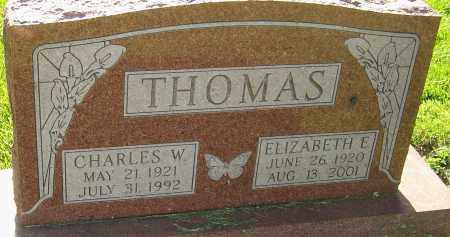 THOMAS, ELIZABETH ELLEN - Montgomery County, Ohio | ELIZABETH ELLEN THOMAS - Ohio Gravestone Photos