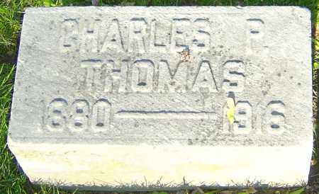 THOMAS, CHARLES P - Montgomery County, Ohio | CHARLES P THOMAS - Ohio Gravestone Photos