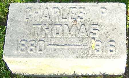 THOMAS, CHARLES P - Montgomery County, Ohio | CHARLES P THOMAS - Ohio Gravestone Photos