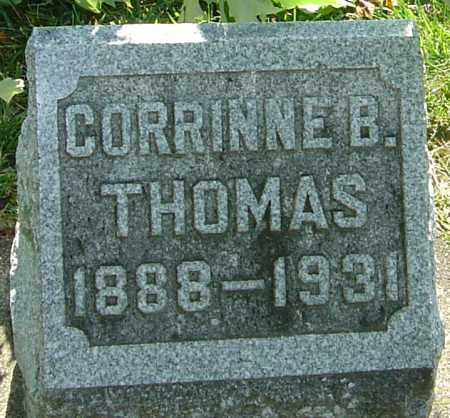 THOMAS, CORRINNE - Montgomery County, Ohio | CORRINNE THOMAS - Ohio Gravestone Photos
