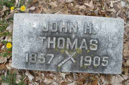THOMAS, JOHN H. - Montgomery County, Ohio | JOHN H. THOMAS - Ohio Gravestone Photos
