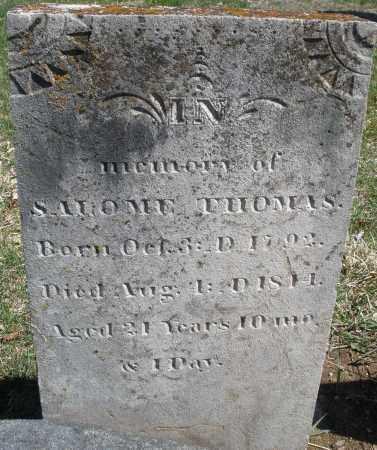 THOMAS, SALOME - Montgomery County, Ohio | SALOME THOMAS - Ohio Gravestone Photos