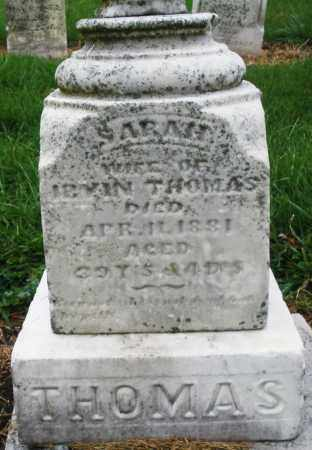 THOMAS, SARAH - Montgomery County, Ohio | SARAH THOMAS - Ohio Gravestone Photos