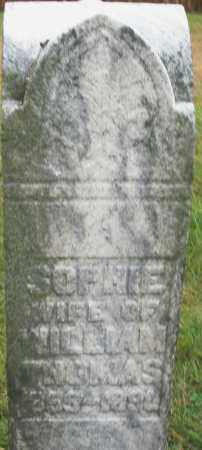 THOMAS, SOPHIE - Montgomery County, Ohio | SOPHIE THOMAS - Ohio Gravestone Photos