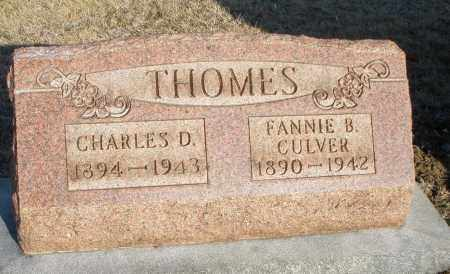 THOMES, FANNIE B. - Montgomery County, Ohio | FANNIE B. THOMES - Ohio Gravestone Photos