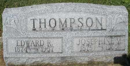 THOMPSON, JOSEPHINE M. - Montgomery County, Ohio | JOSEPHINE M. THOMPSON - Ohio Gravestone Photos