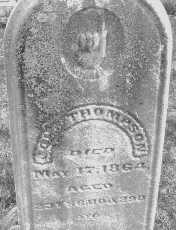 THOMPSON, JOHN - Montgomery County, Ohio | JOHN THOMPSON - Ohio Gravestone Photos
