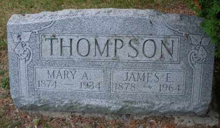 THOMPSON, JAMES E. - Montgomery County, Ohio | JAMES E. THOMPSON - Ohio Gravestone Photos