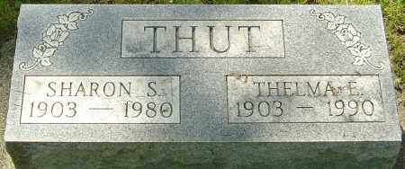 THUT, SHARON S - Montgomery County, Ohio | SHARON S THUT - Ohio Gravestone Photos