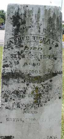 TIBBALS, ASHER - Montgomery County, Ohio | ASHER TIBBALS - Ohio Gravestone Photos