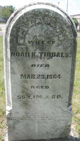 TIBBALS, NOAH K. - Montgomery County, Ohio | NOAH K. TIBBALS - Ohio Gravestone Photos