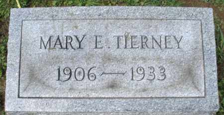 TIERNEY, MARY E. - Montgomery County, Ohio | MARY E. TIERNEY - Ohio Gravestone Photos