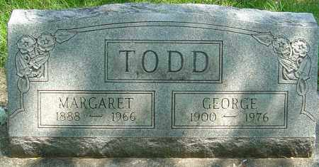 TODD, GEORGE WASHINGTON - Montgomery County, Ohio | GEORGE WASHINGTON TODD - Ohio Gravestone Photos