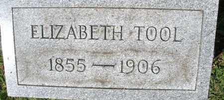 TOOL, ELIZABETH - Montgomery County, Ohio | ELIZABETH TOOL - Ohio Gravestone Photos