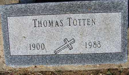 TOTTEN, THOMAS - Montgomery County, Ohio | THOMAS TOTTEN - Ohio Gravestone Photos