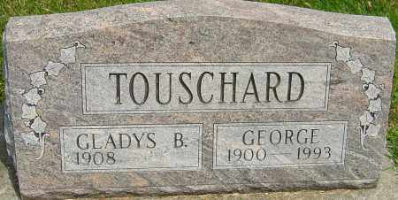 TOUSCHARD, GLADYS - Montgomery County, Ohio | GLADYS TOUSCHARD - Ohio Gravestone Photos
