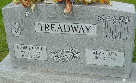 TREADWAY, GEORGE GARIE - Montgomery County, Ohio | GEORGE GARIE TREADWAY - Ohio Gravestone Photos