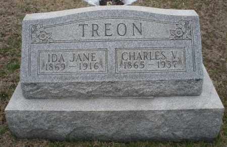 TREON, IDA JANE - Montgomery County, Ohio | IDA JANE TREON - Ohio Gravestone Photos