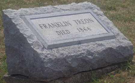 TREON, FRANKLIN - Montgomery County, Ohio | FRANKLIN TREON - Ohio Gravestone Photos