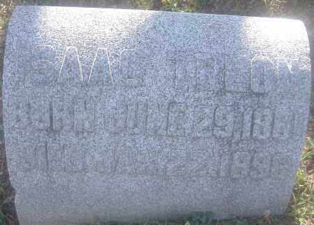 TREON, ISAAC - Montgomery County, Ohio | ISAAC TREON - Ohio Gravestone Photos
