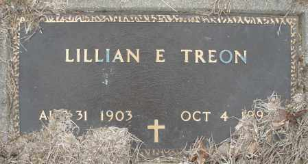 E. TREON, LILLIAN - Montgomery County, Ohio | LILLIAN E. TREON - Ohio Gravestone Photos