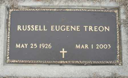 TREON, RUSSELL EUGENE - Montgomery County, Ohio | RUSSELL EUGENE TREON - Ohio Gravestone Photos