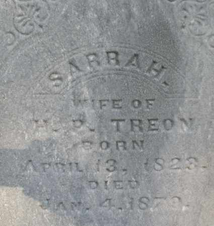 TREON, SARRAH - Montgomery County, Ohio | SARRAH TREON - Ohio Gravestone Photos