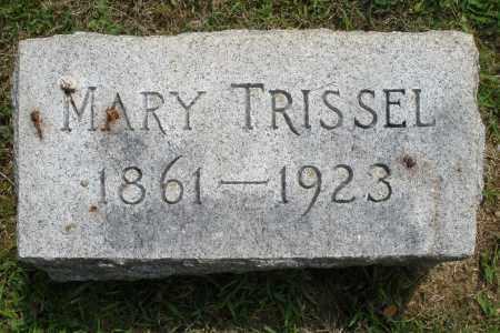 TRISSEL, MARY - Montgomery County, Ohio | MARY TRISSEL - Ohio Gravestone Photos