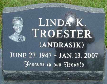 TROESTER, LINDA K - Montgomery County, Ohio | LINDA K TROESTER - Ohio Gravestone Photos