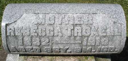 TROXELL, REBECCA - Montgomery County, Ohio | REBECCA TROXELL - Ohio Gravestone Photos