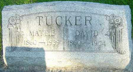 TUCKER, DAVID CROCKETT - Montgomery County, Ohio | DAVID CROCKETT TUCKER - Ohio Gravestone Photos