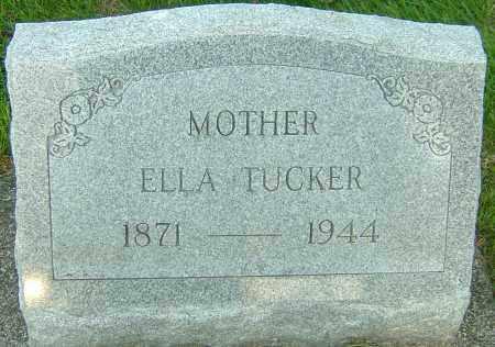BURTON TUCKER, ELLA - Montgomery County, Ohio | ELLA BURTON TUCKER - Ohio Gravestone Photos