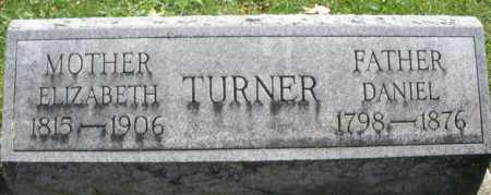 TURNER, DANIEL - Montgomery County, Ohio | DANIEL TURNER - Ohio Gravestone Photos