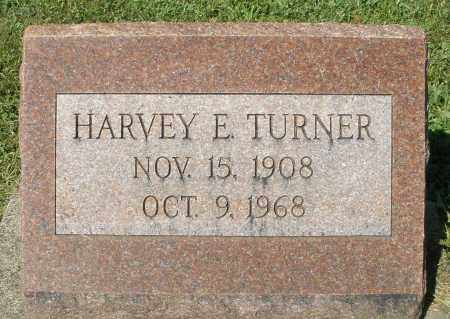TURNER, HARVEY E. - Montgomery County, Ohio | HARVEY E. TURNER - Ohio Gravestone Photos