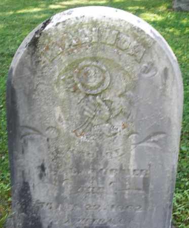 TURNER, MALINDA - Montgomery County, Ohio | MALINDA TURNER - Ohio Gravestone Photos