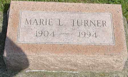 TURNER, MARIE L - Montgomery County, Ohio | MARIE L TURNER - Ohio Gravestone Photos