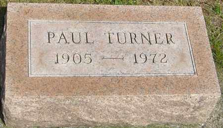 TURNER, PAUL - Montgomery County, Ohio | PAUL TURNER - Ohio Gravestone Photos