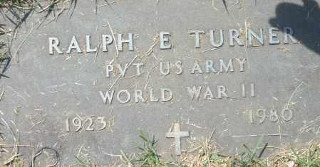 TURNER, RALPH E. - Montgomery County, Ohio | RALPH E. TURNER - Ohio Gravestone Photos