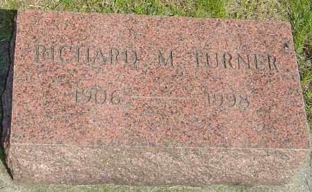 TURNER, RICHARD M - Montgomery County, Ohio | RICHARD M TURNER - Ohio Gravestone Photos