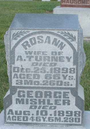 MISHLER, GEORGE - Montgomery County, Ohio | GEORGE MISHLER - Ohio Gravestone Photos