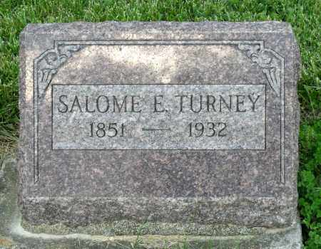 TURNEY, SALOME E. - Montgomery County, Ohio | SALOME E. TURNEY - Ohio Gravestone Photos