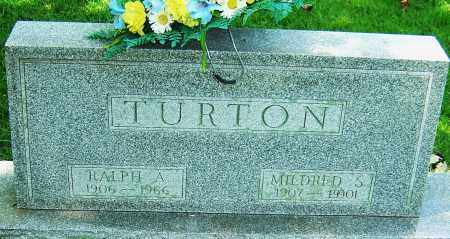 TURTON, MILDRED SUSAN - Montgomery County, Ohio | MILDRED SUSAN TURTON - Ohio Gravestone Photos