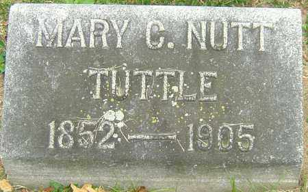 NUTT TUTTLE, MARY C - Montgomery County, Ohio | MARY C NUTT TUTTLE - Ohio Gravestone Photos