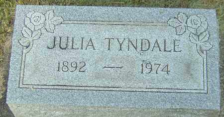 TYNDALE, JULIA - Montgomery County, Ohio | JULIA TYNDALE - Ohio Gravestone Photos